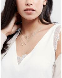 ALDO Metallic Drayn Layered Necklace
