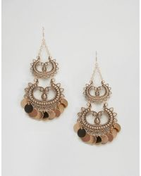 ALDO Metallic Deserio Chandelier Earrings