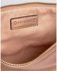 Warehouse | Metallic Eyelet Detail Clutch Bag | Lyst
