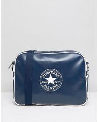 Converse Blue Messenger Bag for men