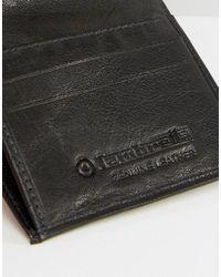 Lambretta - Black Card And Coin Pocket Wallet for Men - Lyst