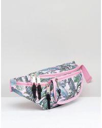 Hype - Multicolor Exclusive Pastel Garden Palm Print Fanny Pack - Lyst