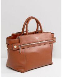 Fiorelli Brown Abbery Tan Tote Bag