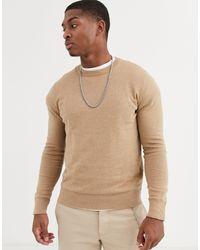 Maglione marrone di Topman in Brown da Uomo