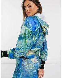 PUMA Blue X Central Saint Martins Cropped Jacket