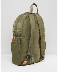 Abercrombie & Fitch Green Backpack In Olive for men