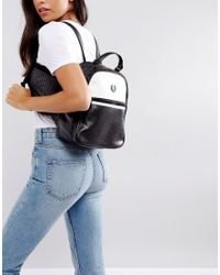 Fred Perry - Black Backpack - Lyst