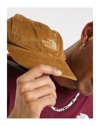 The North Face Brown Heritage Cord Cap for men