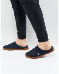 Ralph Lauren - Blue Jaque Scuff Slippers for Men - Lyst