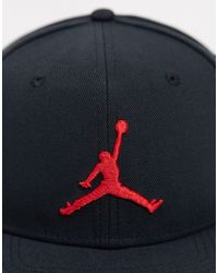 Черно-красная Бейсболка Nike Pro Jumpman-черный Nike, цвет: Black