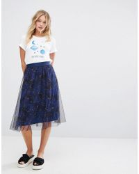 Monki White Day Dreamer Star T-shirt