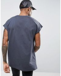 ASOS - Multicolor Longline T-shirt In Oversized Fit 3 Pack Save for Men - Lyst