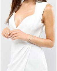 ALDO - Metallic Minimal Cuff Bracelet - Lyst