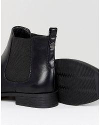 Park Lane - Black Flat Chelsea Boots - Lyst