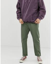 Pantalones verdes Gerald Carhartt WIP de hombre de color Green