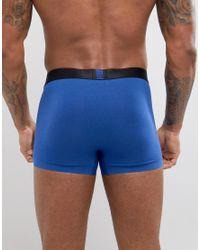 Calvin Klein - Blue Trunk for Men - Lyst