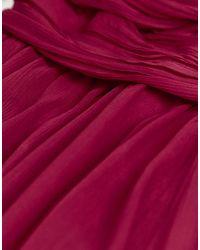 Robe longue ASOS en coloris Red