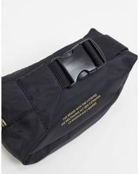 Сумка-кошелек На Пояс С Золотистым Логотипом Superstar-черный Adidas Originals для него, цвет: Black