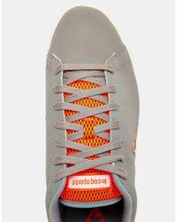 Le Coq Sportif Gray Courtone Sneakers for men