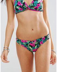 Marie Meili - Blue E Multi Bikini Brief - Lyst