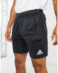 Черные Шорты 4krft-черный Adidas для него, цвет: Black