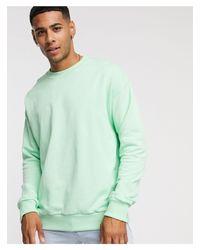 New Look Green Sweatshirt for men