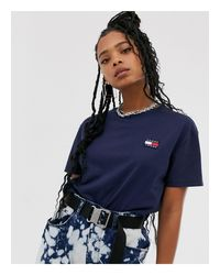 T-shirt di Tommy Hilfiger in Blue