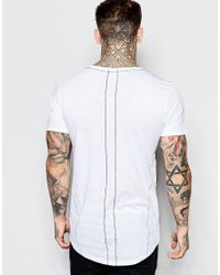 Religion - White T-shirt With Tattooed Stand & Fight Girl Print for Men - Lyst