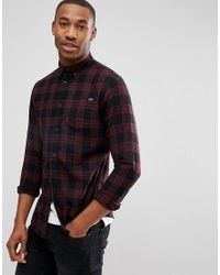 e2dd9f26cd7 Men's Red Originals Check Shirt In Regular Fit