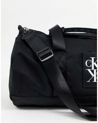 Черная Сумка Дафл -черный Calvin Klein для него, цвет: Black
