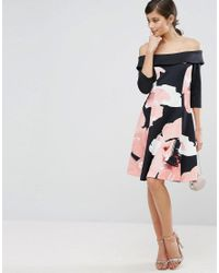 Coast Multicolor Monroe Lou Dress