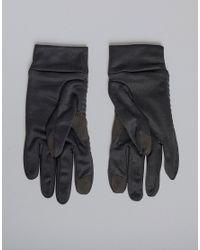 Gants d'hiver Reebok pour homme en coloris Black