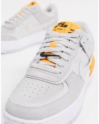 Chaussure Air Force 1 Shadow pour Nike en coloris Gris - Lyst