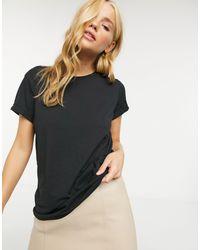 Eleanor - T-shirt basic di Brave Soul in Black