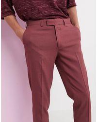 Pantalon skinny élégant - Baie cendrée ASOS pour homme en coloris Purple