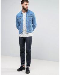 Only & Sons Blue Denim Jacket for men