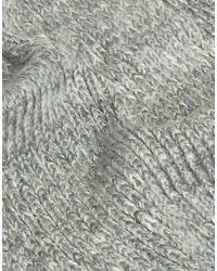 Eugenia Kim Gray Genie By Lane Light Grey Knit Scarf