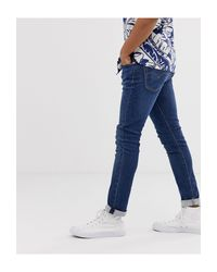 Levi's 519 – Superenge, tiefsitzende Jeans in Blue für Herren