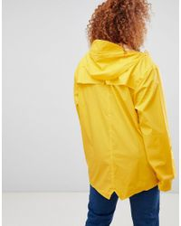 Rains Yellow Waterproof Jacket