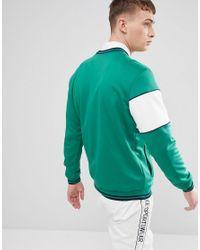 Nike Archive Long Sleeve T-shirt In Green Ah0715-368 for men