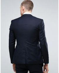 Noak - Blue Super Skinny Suit Jacket for Men - Lyst