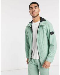 Зеленая Нейлоновая Куртка -зеленый Calvin Klein для него, цвет: Green
