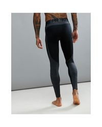 Pro Hyperwarm 838016-010 - Leggings neri di Nike in Black da Uomo