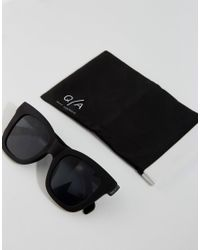 Quay - After Hours Cat Eye Sunglasses In Black for Men - Lyst