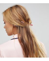 ASOS - Multicolor Pack Of 2 Hair Clips - Lyst