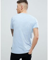 French Connection Blue Basic Crew T-shirt for men