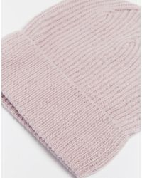 Cheap Monday - Pink Beanie Hat - Lyst