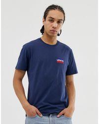 Levi's – Sportkleidung – T-Shirt in Blue für Herren