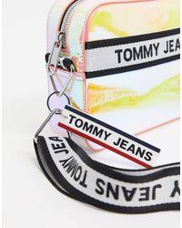 Tommy Hilfiger Multicolor – Schillernde Umhängetasche aus PU