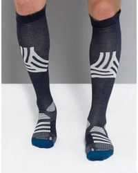Adidas - Tango Football Socks In Blue Br1693 for Men - Lyst